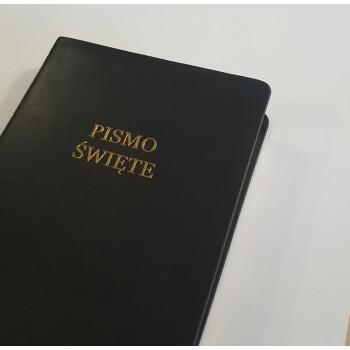 Biblia UBG A6 PU granat