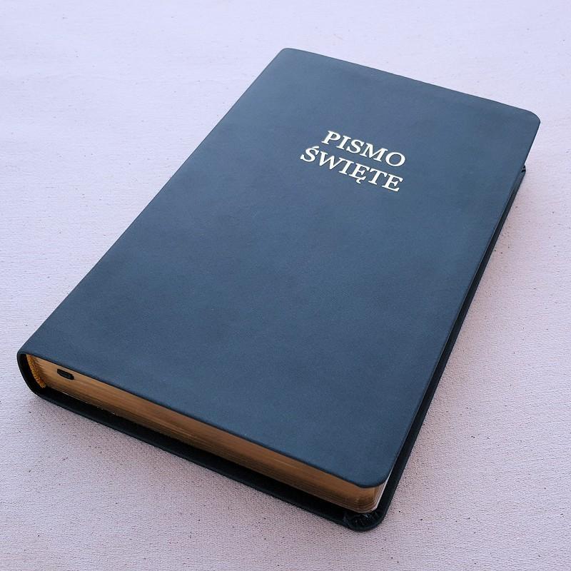 Biblia UBG A6 PVC granat