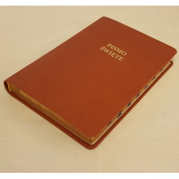 Biblia UBG Normalna czcionka  F1 Twarda okładka, czarny