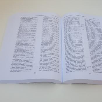 Biblia UBG Duża czcionka  F2 PU Czarny