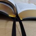 Biblia UBG F1 PU z indeksami granat