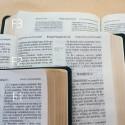 Biblia UBG F2 PU z indeksami granat