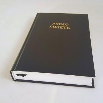 Biblia UBG Duża czcionka F2 Twarda okładka, czarny
