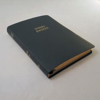 Biblia UBG Duża czcionka F2 PU Czarny (Grubszy Papier)