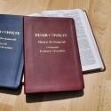Biblia UBG F1 PU z indeksami morski GRUBSZY PAPIER
