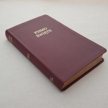 Biblia UBG Szeroki margines F3 Bordo