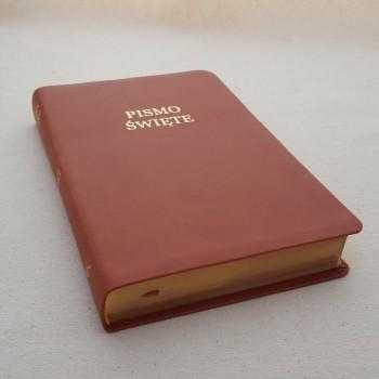 Biblia UBG Szeroki margines F3 Brąz