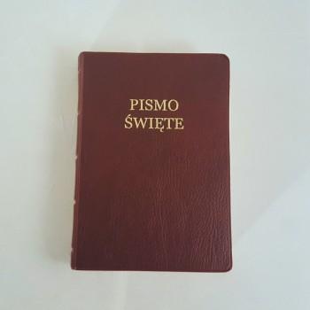 Biblia UBG A6 PVC bordo